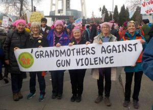 Women's March GAGV - http://www.grandmothersagainstgunviolence.org/