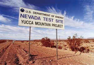 Yucca Mountain Project. (Credit: IOP Physics)