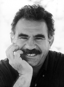 "Abdullah Öcalan in 1997 (Credit: Archive of the International Initiative ""Freedom for Abdullah Ocalan - Peace in Kurdistan"")"