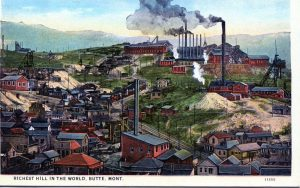 Butte would become the world's largest copper producer.