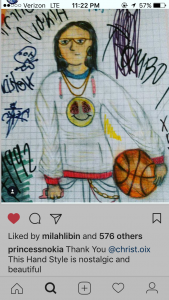 Fan art. credit: princessnokia instagram