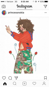 Fan Art 4. credit: princessnokia