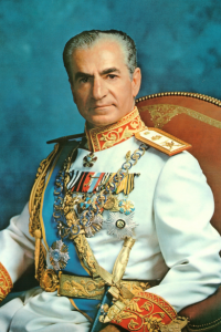 A formal picture of Mohammad Reza Shah taken in 1972. (Source)