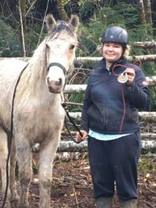 Teen & Oregon Mustang 2017 Participants Manaia &Pax [Credit: Teens & Oregon Mustangs]