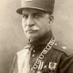 Formal picture of Reza Shah Pahlavi (Public Domain)
