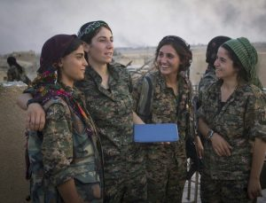 YPJ fighters (Source: Wikimedia Commons)