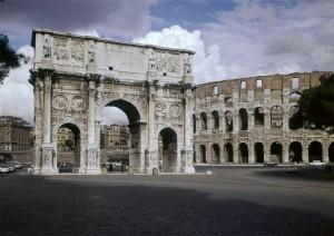 Arch of Constantine, Rome. 312-315 CE. Roman Art