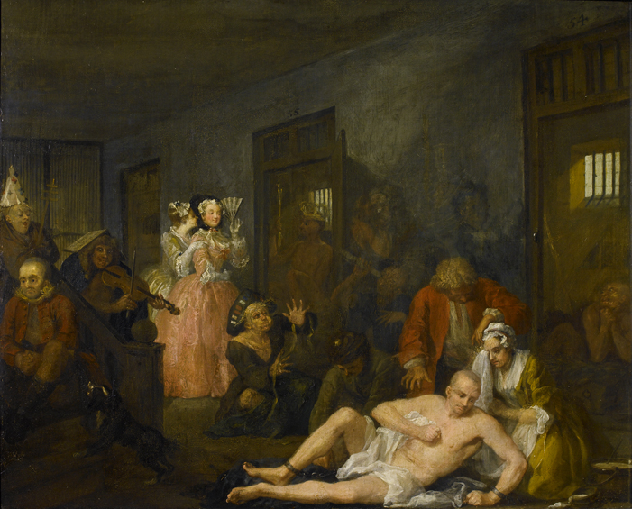 English art and architecture of the 17th and 18th centuries for William hogarth was noted for painting