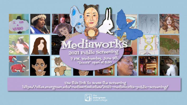 poster for teh 2021 Mediaworks public screening