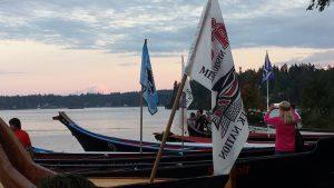 Photo by: Monica Teeais Canoe Journey Canoes